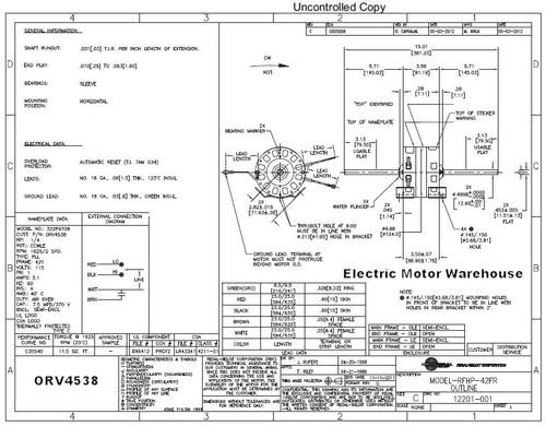 Dayton 1 3 Hp 2 Sd Fan Motor Wiring Diagram. . Wiring Diagram on