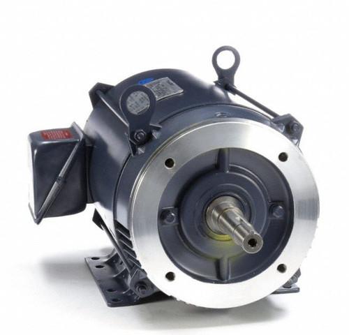 10 hp 3450 RPM 213JM Frame ODP 230/460V Marathon Close Couple Motor # GT0418A