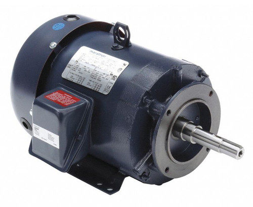 GT3112A Marathon 5 hp 3600 RPM 184JM Frame TEFC 230/460V Marathon Close Couple Motor