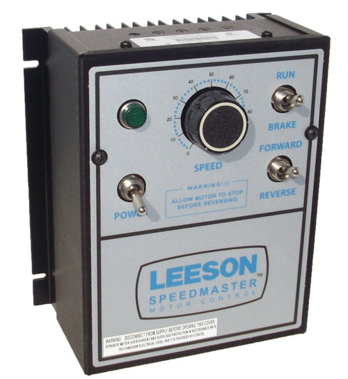 174308.00 Leeson |   DC Motor Control  174308 - NEMA 1 - 90/180VDC, 1/8 hp to 2 hp Reversing