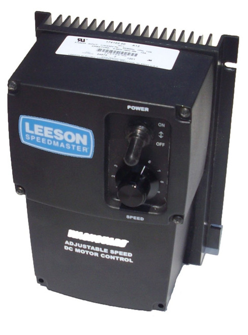 174107.00 Leeson |   DC Motor Control  174107 - NEMA 4X - 90/180VDC, 1/8 hp to 2 hp Reversing
