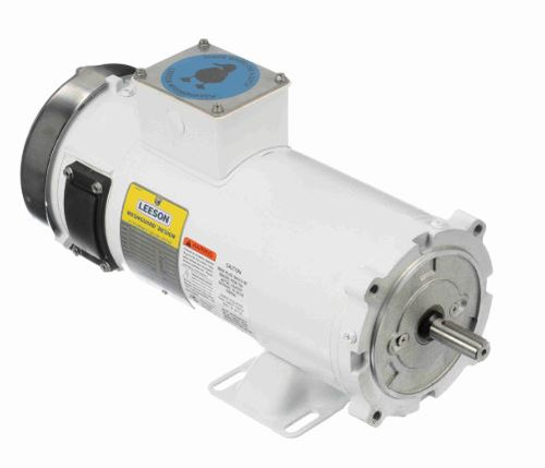 108232.00 Leeson |  1.5 hp 1800 RPM 56C TEFC Frame 180 volts DC Wash Down Duty