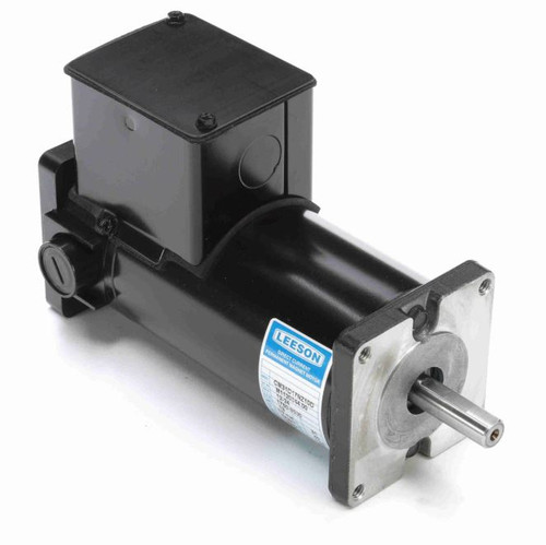 M1120044.00 Leeson |  Permanent Magnet 12-24 VDC Motor TENV 1/7 hp 1750/3500 RPM 31ES Frame