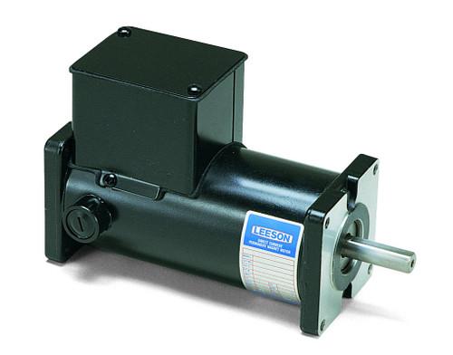 M1120027.00 Leeson |  Permanent Magnet 90 Volts DC Motor 1/8 hp 1750 RPM 31ES Frame