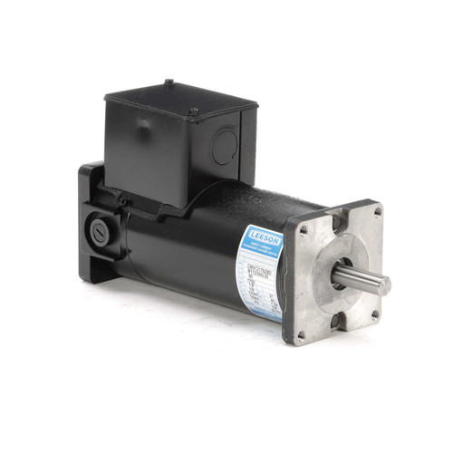 M1120042.00 Leeson |  Permanent Magnet 90 Volts DC Motor 0.17 hp 1750 RPM 31GS Frame