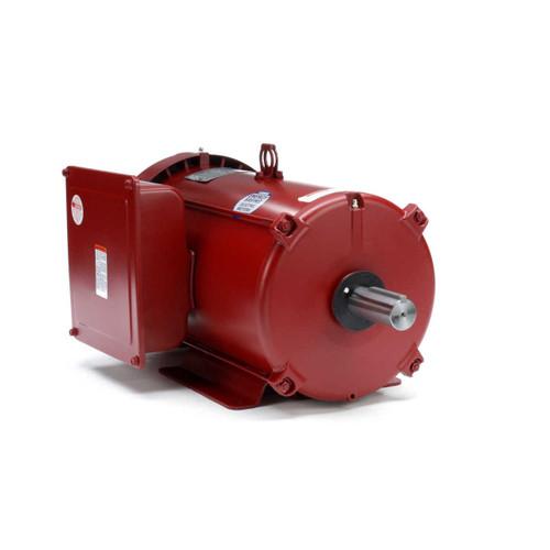 141432.00 Leeson |  5 hp 1740 RPM 215TZ Frame 230volts (Farm Duty) Extra High Torque