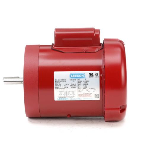 113290.00 Leeson |  1/3 hp 1725 RPM 56C Frame (Farm Duty) 115/230 Volts