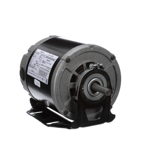 GF2014 Century 1/6 hp 1725 RPM 48 Frame 115V Belt Drive Furnace Motor