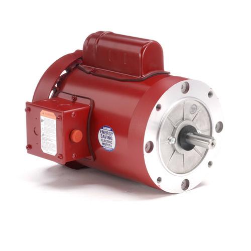 1/2 hp 1725 RPM 56C Frame (Farm Duty) 115/230V Leeson Electric Motor # 110492