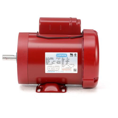 1 hp 1725 RPM 56C w/base 115/208-230V Leeson Farm Duty # 116488