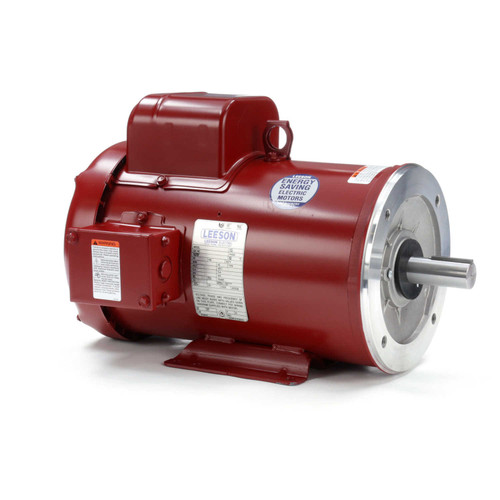 131995.00 Leeson |  5 hp 1740 RPM 184TC w/base 230V  Farm Duty