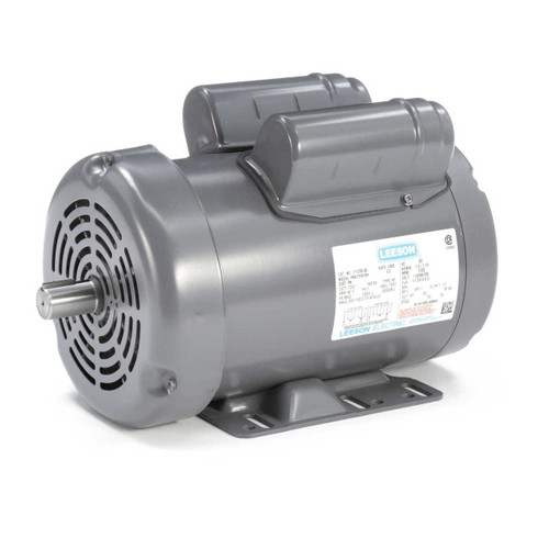 111330.00 Leeson |  1.5 hp 1725 RPM 56HZ Frame 115/208-230V  Grain Stirring Farm Electric Motor