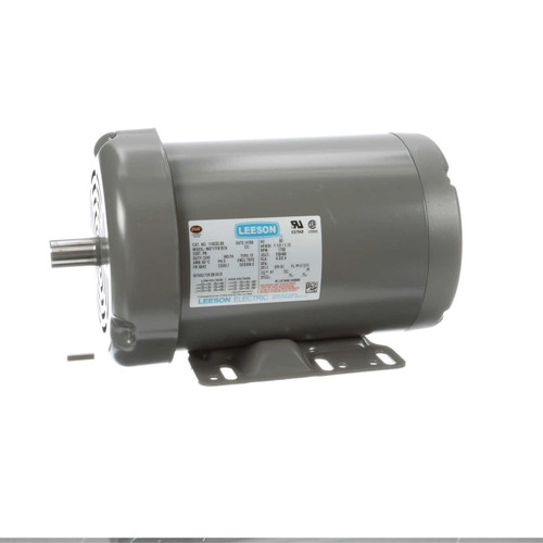1.5 hp 1725 RPM 56HZ Frame 208-230/460V Leeson Grain Stirring Farm Electric Motor # 119533