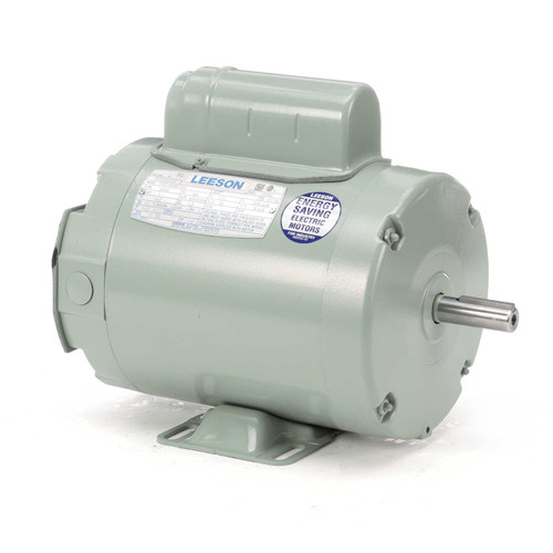111333.00 Leeson |  1 hp 3450 RPM 56Z 115/230V Aeration Fan Motor