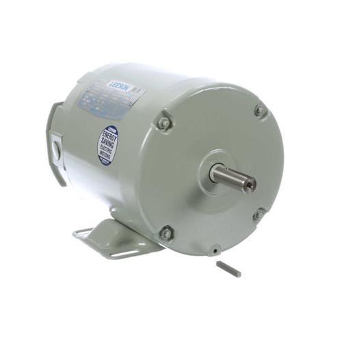 3/4 hp 3450 RPM 56Z 208-230/460V Aeration Fan Motor Leeson # 111334