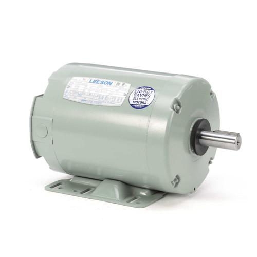 1.5 hp 3450 RPM 143TZ 208-230/460V Aeration Fan Motor Leeson # 120377
