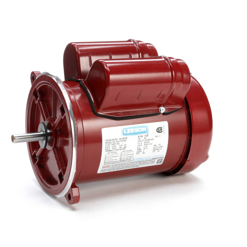 101120.00 Leeson |  1/2 hp 1725 RPM 48YZ 115/208-230V  Feed Auger Drive Motor