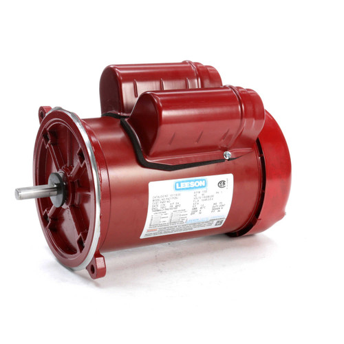 101119.00 Leeson |  3/4 hp 1725 RPM 48YZ 115/208-230V  Feed Auger Drive Motor