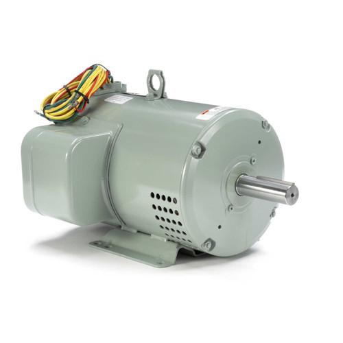 7.5-10 hp 3450 RPM 182TZ 230V Crop Dryer Motor Leeson # 131848