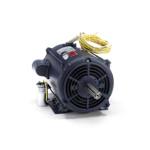 10-15 hp 3450 RPM 215TZ 230V Crop Dryer Motor Leeson # 140640