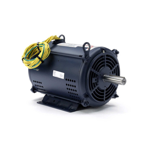 140641.00 Leeson |  10-15 hp 3450 RPM 215TZ 208-220/440V; 3-Phase Crop Dryer Motor
