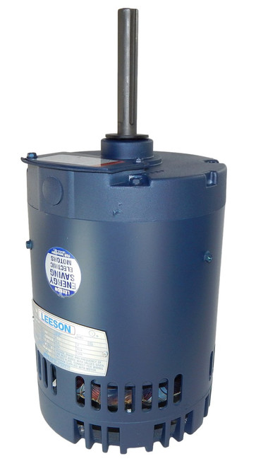 115778.00 Leeson |  1 hp 1140 RPM 56Y 208-230/460V Condenser Fan Motor, Rigid Base,