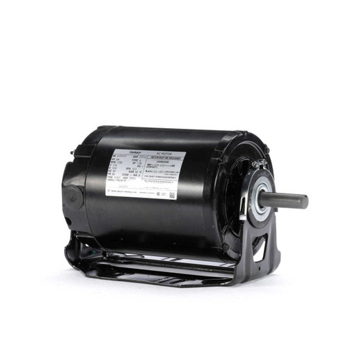GK2074 Century 3/4 hp 1725 RPM 56 Frame 115V Belt Drive Furnace Motor