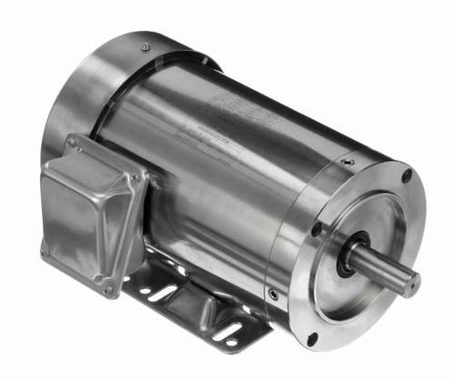 191488.00 Leeson |  1.5 hp 3600 RPM 143TC Frame TEFC 208-230/460V Stainless Steel