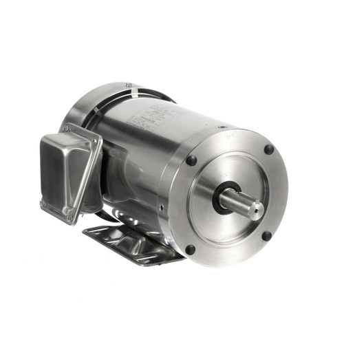 191490.00 Leeson |  2 hp 3600 RPM 145TC Frame TEFC 208-230/460 Volts Stainless Steel