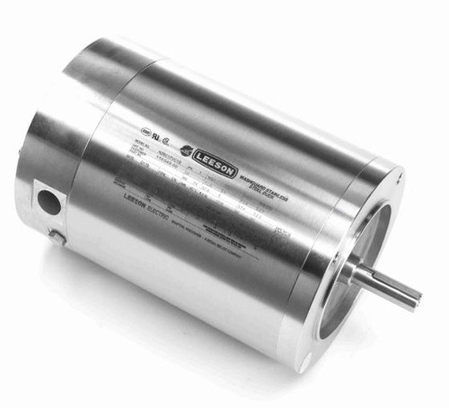 116349.00 Leeson |  1/3 hp 1800 RPM 56C 115/208-230V Stainless Steel No Base