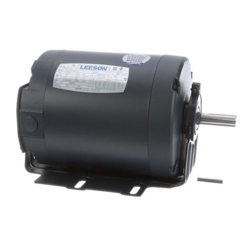 111917.00 Leeson |  1/2 hp 1800 RPM 56 Frame 208-230/460V TEFC Resilient Mount