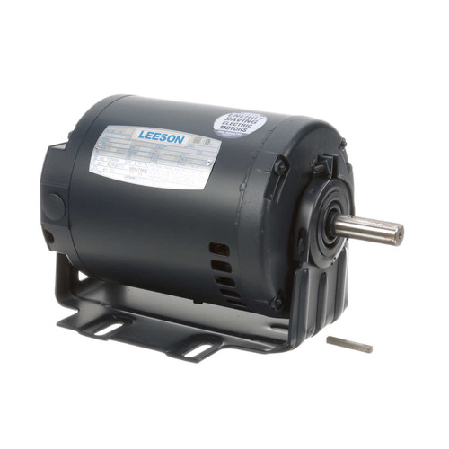 101639.00 Leeson |  1/3 hp 3600 RPM 56 Frame 208-230/460V ODP Resilient Mount