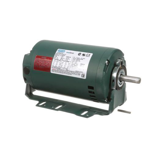 E100210.00 Leeson |  1/3 hp 1800 RPM 56 Frame 230/460V ODP Resilient Mount