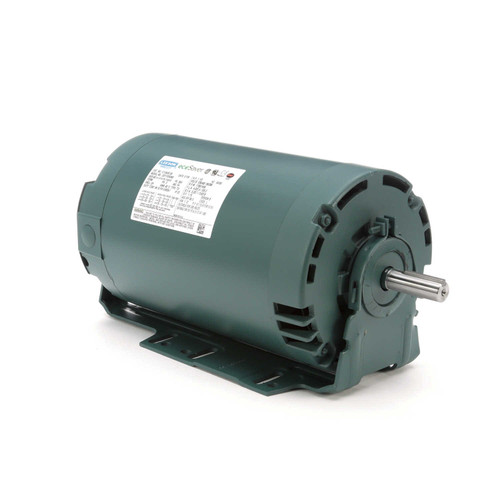 E101520.00 Leeson |  1/3 hp 1800 RPM 56 Frame 230/460V ODP Resilient Mount