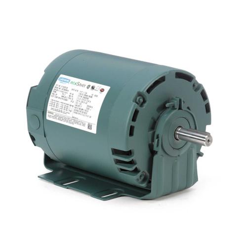 E114192.00 Leeson |  1 hp 3600 RPM 56 Frame 230/460V ODP Resilient Mount