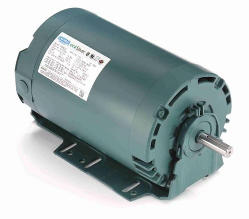 E110052.00 Leeson |  1 hp 1800 RPM 56 Frame 230/460V ODP Resilient Mount