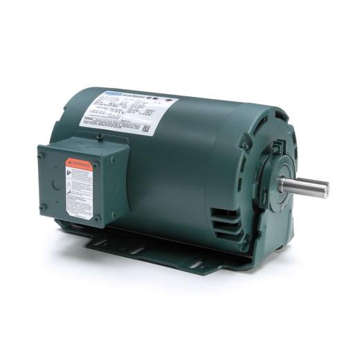 E111311.00 Leeson |  1 hp 1800 RPM 56H Frame 230/460V ODP Resilient Mount