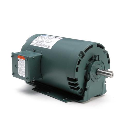 E113846.00 Leeson |  1.5 hp 1800 RPM 56H Frame 230/460V ODP Resilient Mount