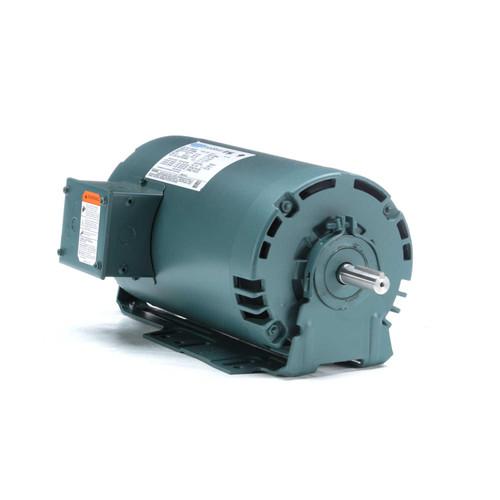 E113897.00 Leeson |  2 hp 3450 RPM 56H Frame 230/460V ODP Resilient Mount