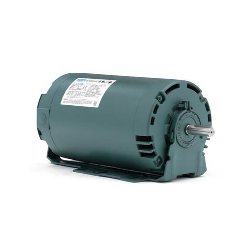 E114197.00 Leeson |  2 hp 1800 RPM 56H Frame 230/460V ODP Resilient Mount