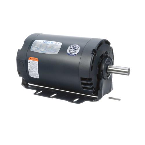 113926.00 Leeson |  3 hp 3600 RPM 56HZ Frame 230/460V ODP Resilient Mount