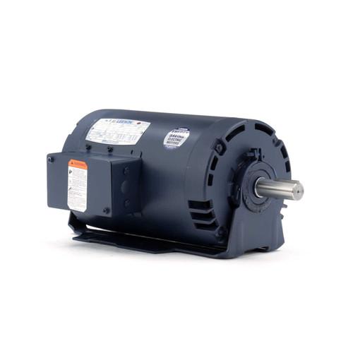 116593.00 Leeson |  3 hp 1800 RPM 56HZ Frame 230/460V ODP Resilient Mount