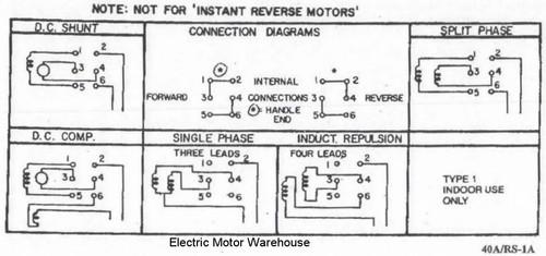 Single Phase Reversing Motor Line Diagram - Catalogue of Schemas on