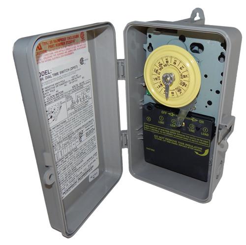 Intermatic T101P Plastic Enclosure 125V SPST Multi Use Timer