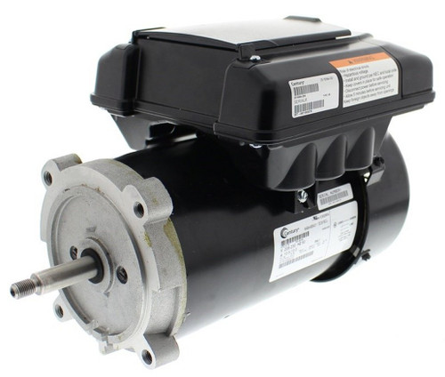 ECM16CU Century Variable Speed ECM Pool Motor 1/2 hp 2-spd 56J 208-230V Century # ECM16CU