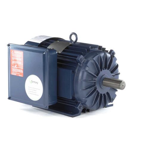 7.5 hp 1800 RPM 215T Frame (Farm Duty) 230V Century Electric Motor # K311