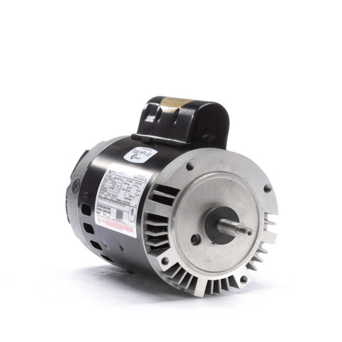 B126 Century 1/2 hp 3450 RPM 56J Frame 115/230V Switchless Swimming Pool Pump Motor Century # B126