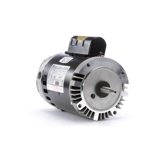B128 Century 1 hp 3450 RPM 56J Frame 115/230V Switchless Swimming Pool Pump Motor Century # B128