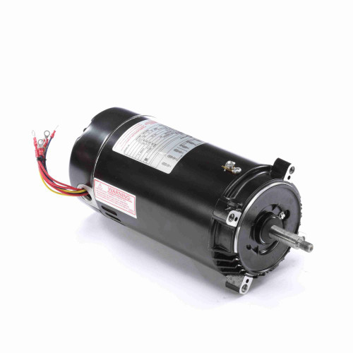 1 hp 3450 RPM 56J Frame 208-230/460V Three Phase Century Pool Motor # T3102
