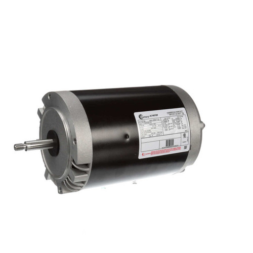 3 hp 3450 RPM 56J Frame 200-230/460V Three Phase Century Pool Motor # H734